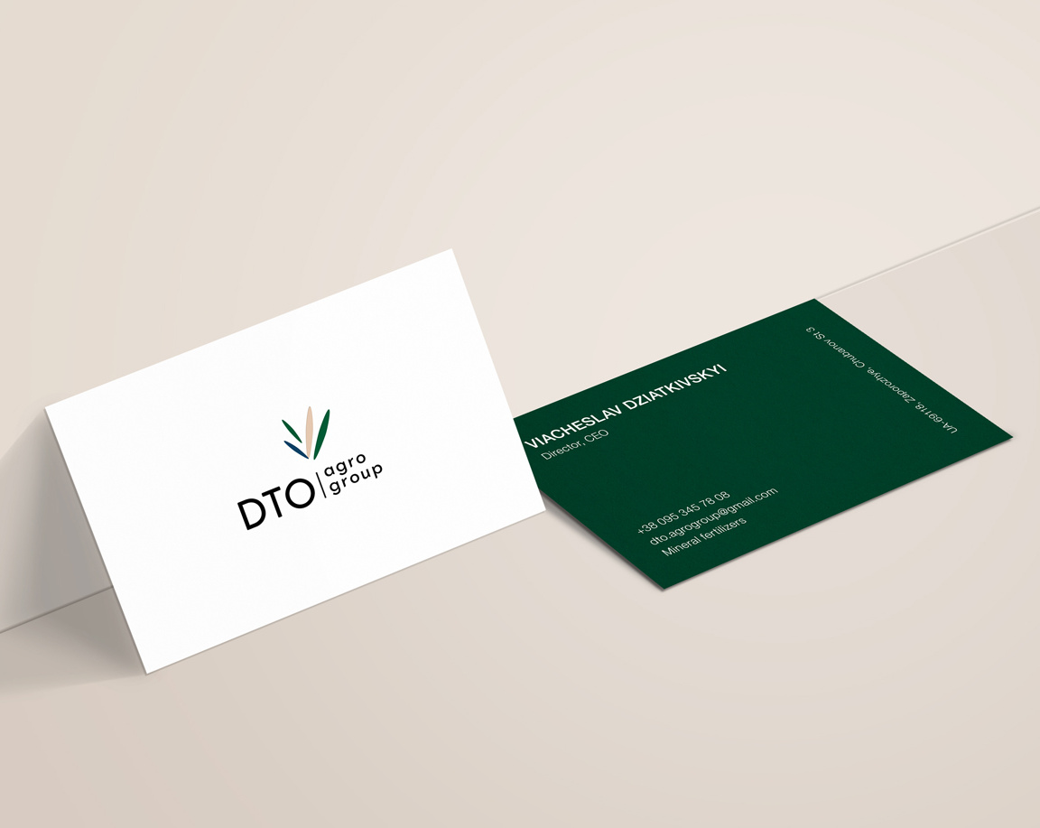 Thumbnail for «We created a logotype for DTO agro group»