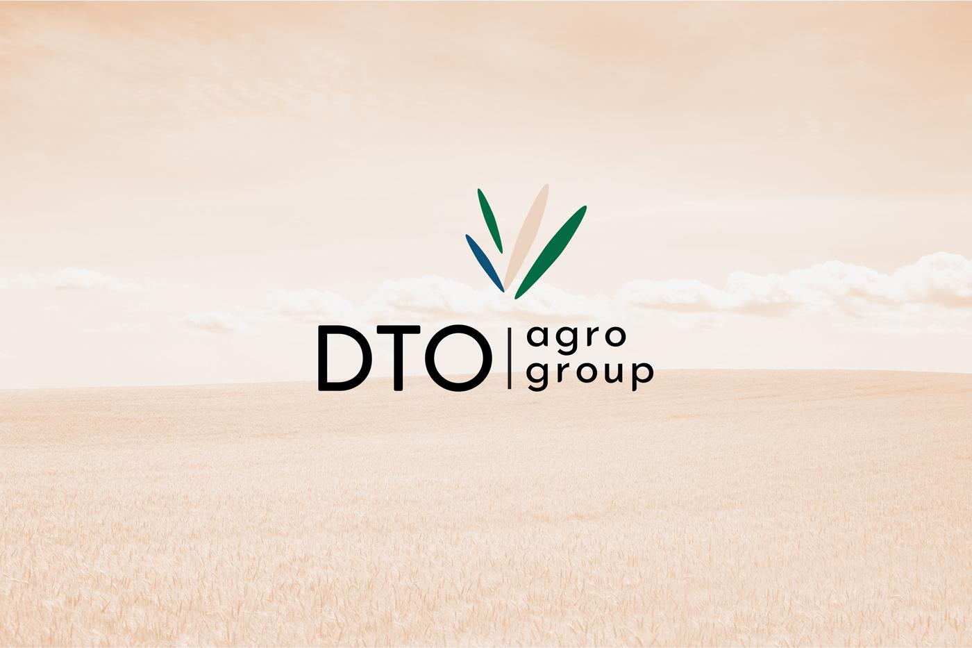 Логотип и фирменный стиль для украинской агрокомпании DTO
