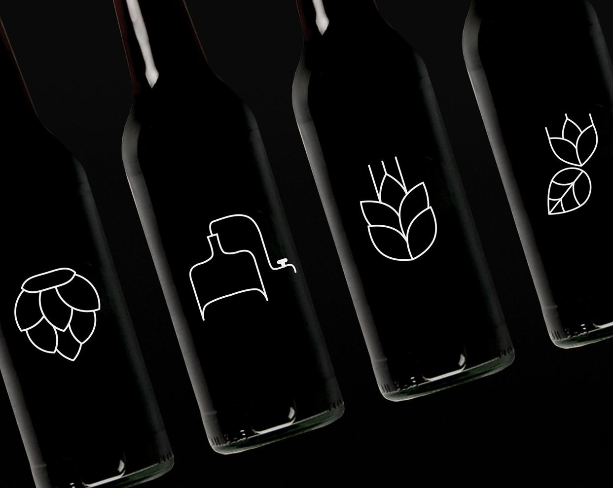 Миниатюра для «PIVNA DUMA — логотип и фирменный стиль для пивоварни и ресторана в Киеве, Украина»