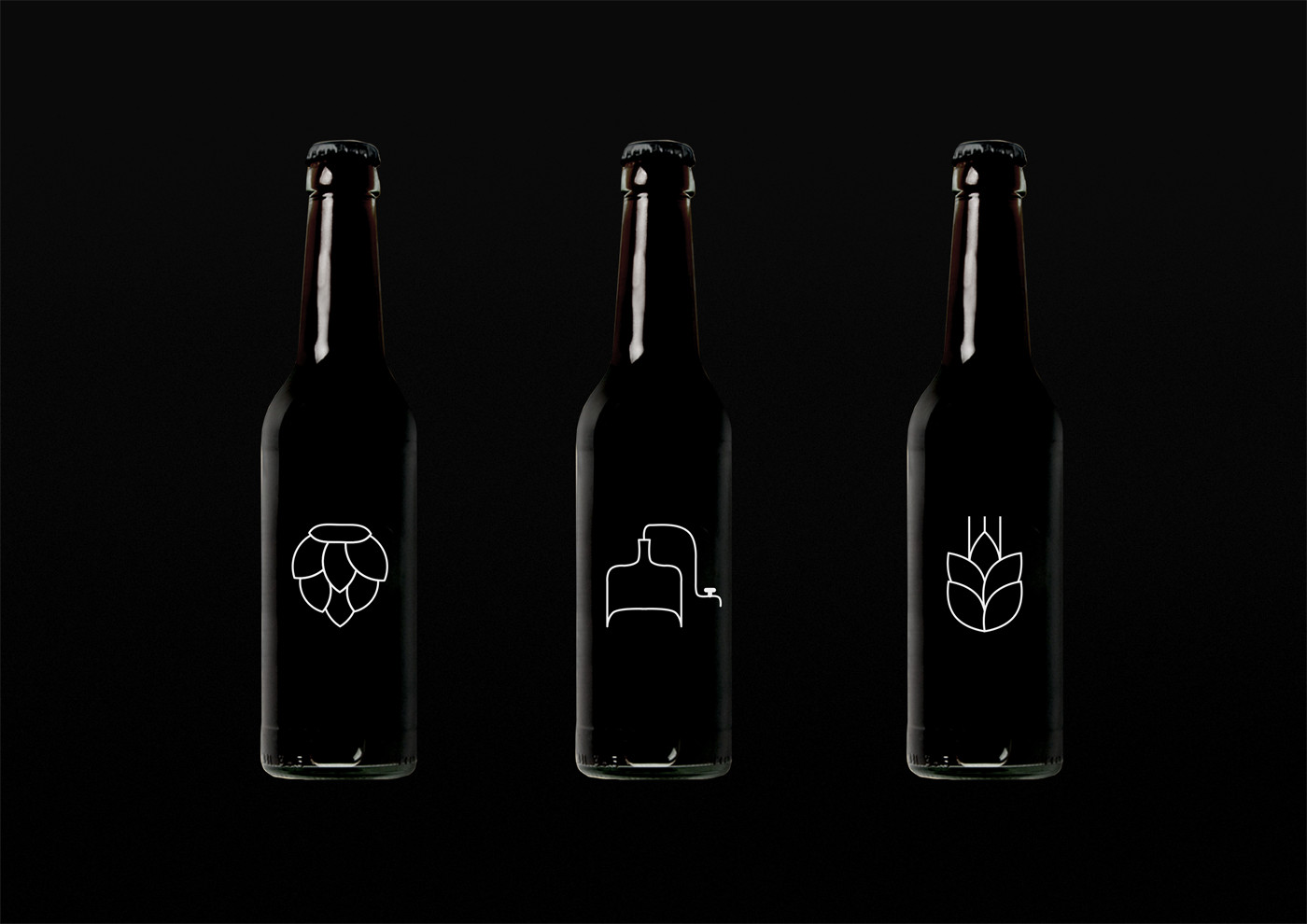 Brand identity and logo for brewery & restaurant Pivna Duma based in Kyiv, Ukraine