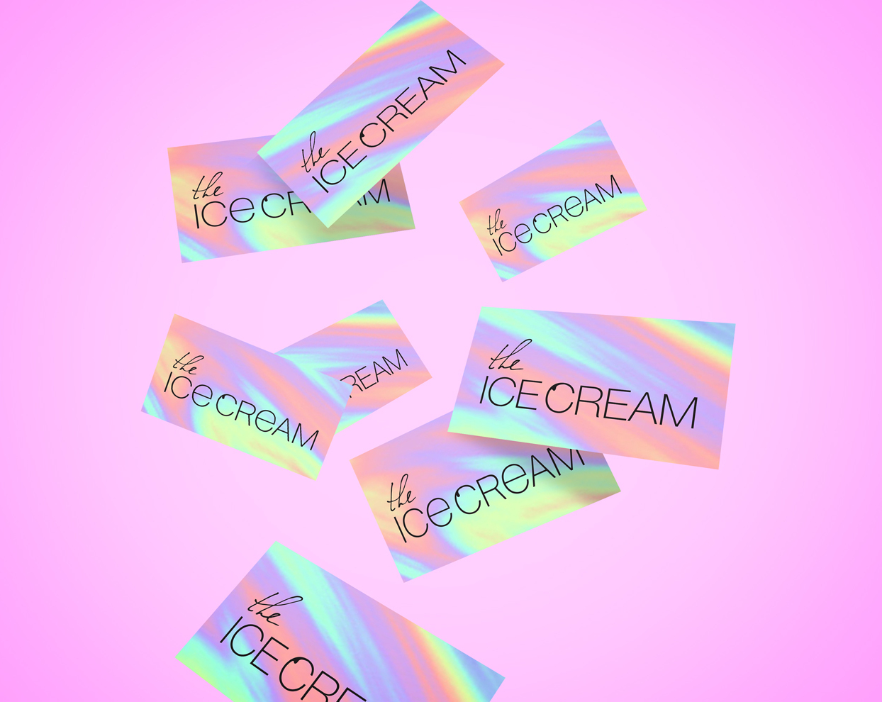 Thumbnail for «Branding and visual identity for perfect THE ICE CREAM»