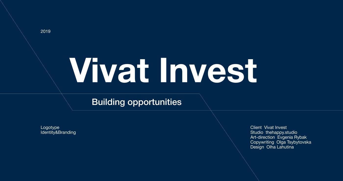 Логотип и брендинг для Vivat Invest