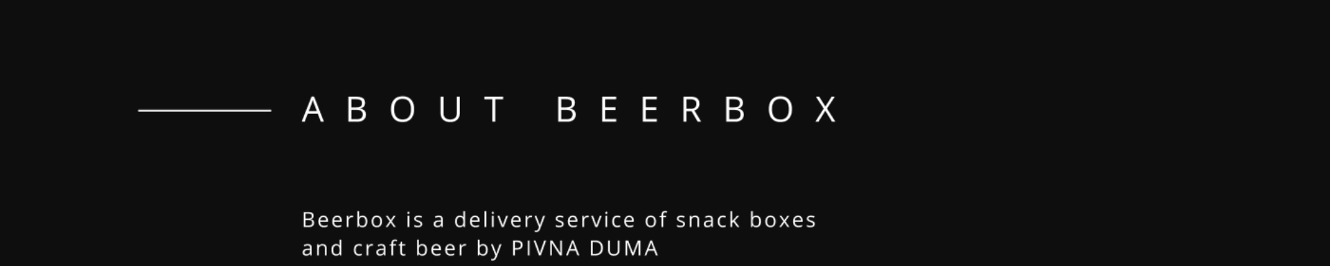 About Beerbox